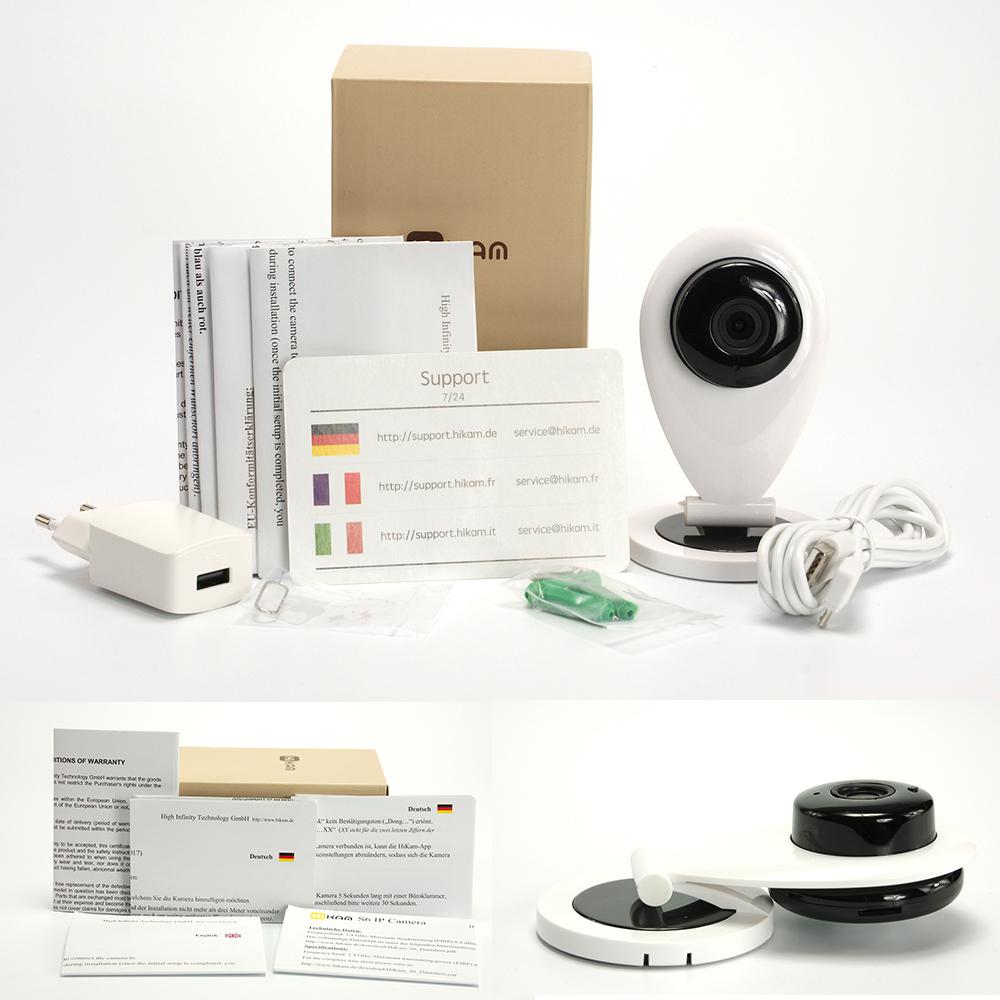 die hikam s6 im test berwachungskamera mit. Black Bedroom Furniture Sets. Home Design Ideas